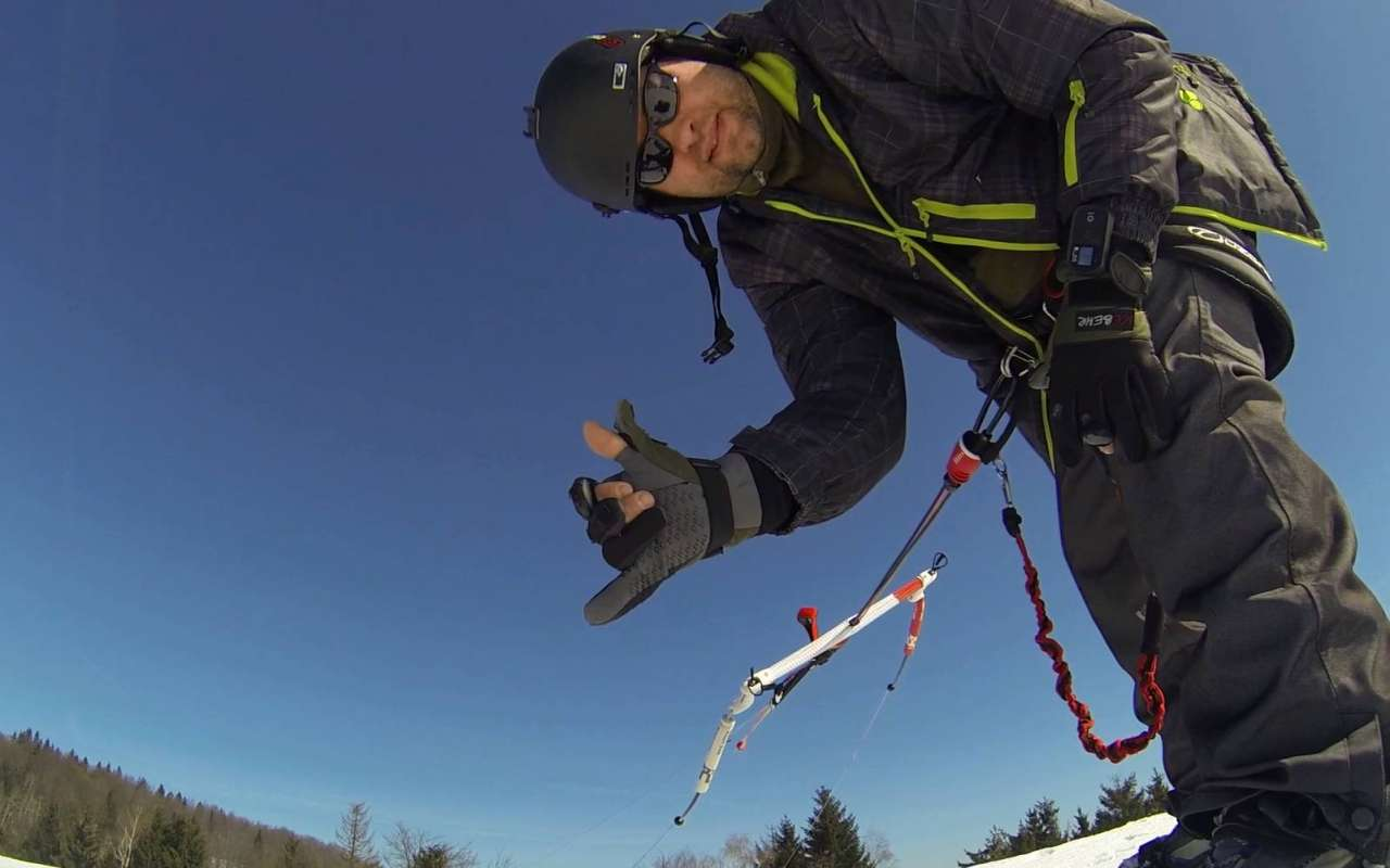 Force Kite 2015 Freeride Snowkite